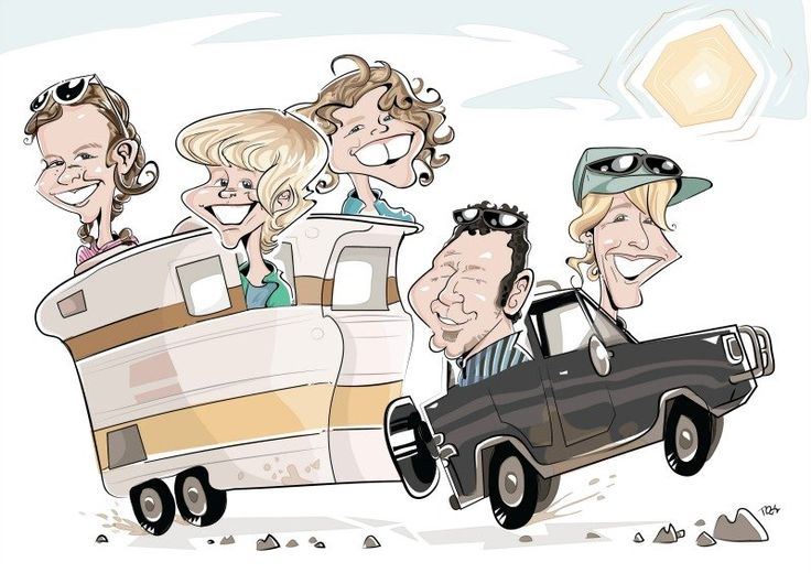 THIS IS US!!  Yep a caricature of us and our van!  Grab your 20% discount by using the code on the link below.  http://www.travellingaustraliawithkids.com/tawker-supporter-explode-creative-caricatures.html