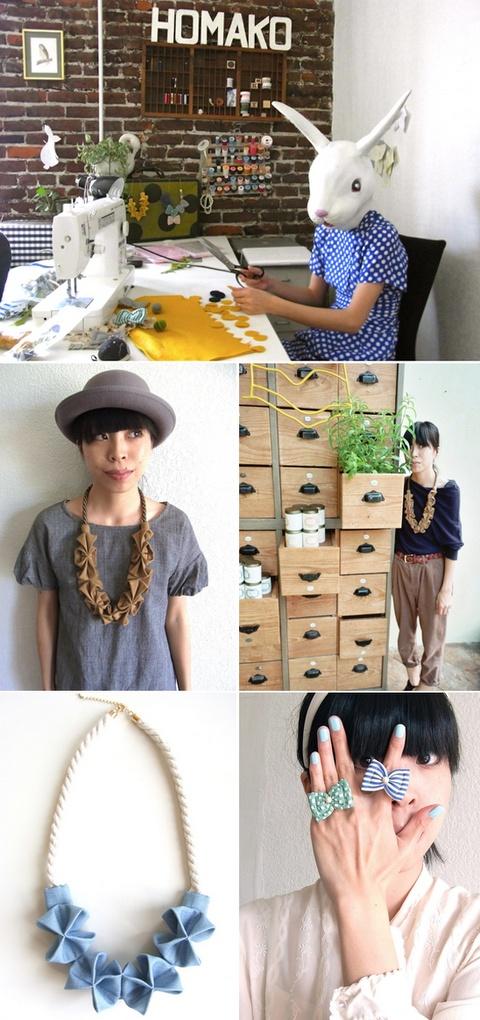 Fabric accessories. amazing