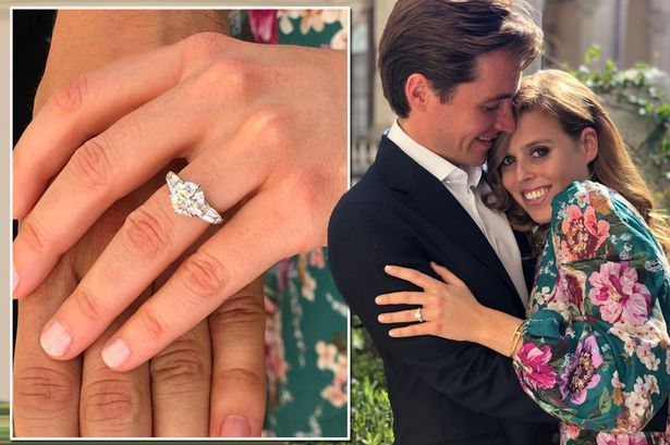Princess Beatrice Engagement To Edo Mozzi Royal Engagement Rings