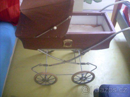 retro kočárek na panenky Liberta - 1