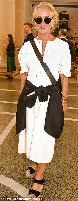 ... and Vogue UK Director of Fashion Lucinda Chambers were also on hand to…