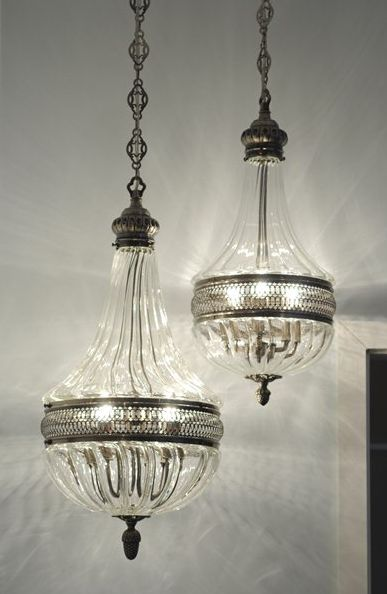 Teardrop Chandelier - £555.00 - Hicks and Hicks