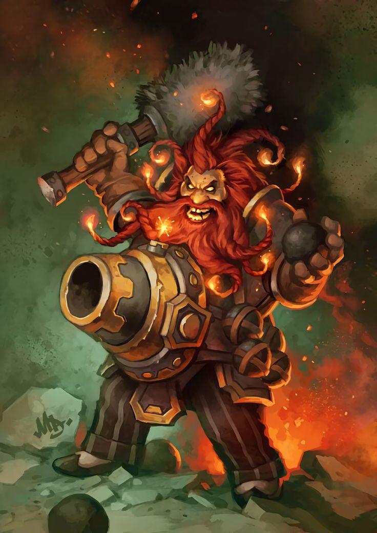 #hearthstone #warcraft #dwarf #nain