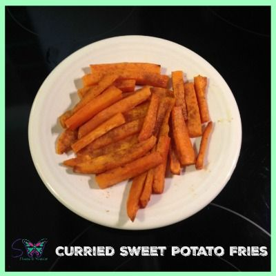 Curried Sweet Potato Fries / #21dayfixapproved #21df #21dayfixrecipe # ...
