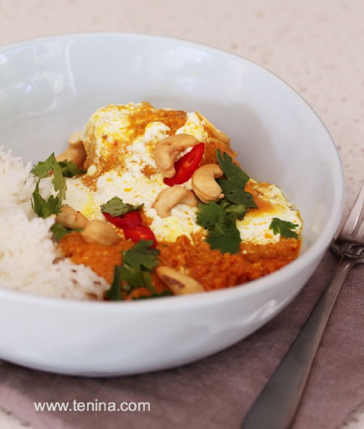 A very easy family friendly curry, get this on your menu straight away. Replace the cashews with any nuts or seeds of choice. Curry in no hurry.