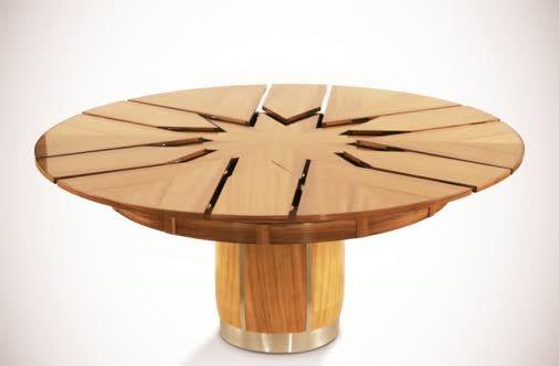 Best 25 capstan table ideas on pinterest expandable for Jupe mechanism