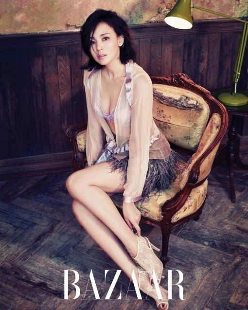 #YanoShiho for #HarpersBazaar Korea