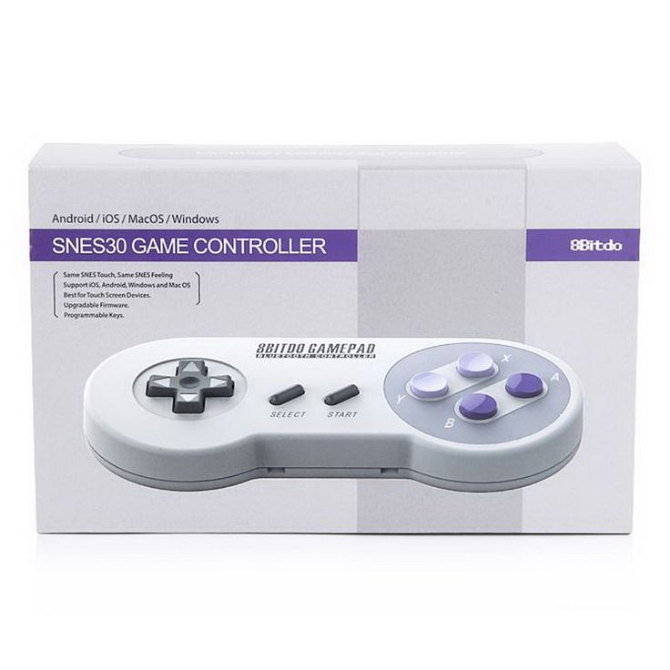 8 snes30 8bitdo wireless controller bluetooth snes gamepad duplo clássico da sega para ios android do windows pk xbox one controlador ps4 em Gamepads de Consumer Electronics no AliExpress.com | Alibaba Group