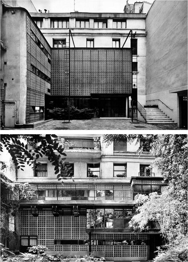 pierre chareau, maison de verre, paris (1931)