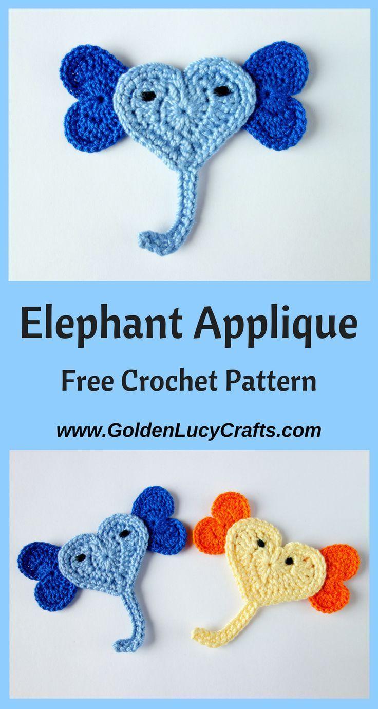 CROCHET PATTERN Joe the Elephant crochet amigurumi stuffed safari ... | 1380x736