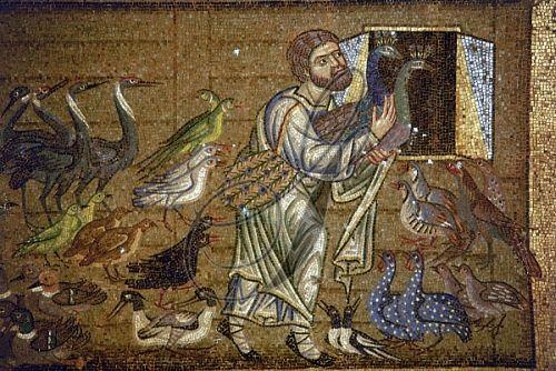 Saint mark 39 s noah 39 s ark mosaic from the pala d 39 oro or for Pala de oro
