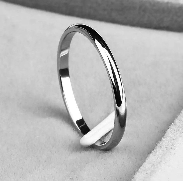 Pandora 925 Sterling Silver Women's Stackable Band Ring Sizes 5-11 Available