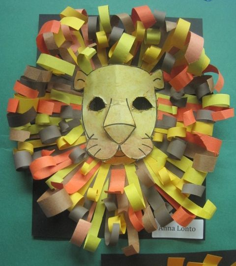 lion craft ideas 25 best construction paper ideas on 2350