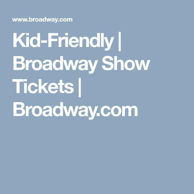 Kid-Friendly | Broadway Show Tickets | Broadway.com