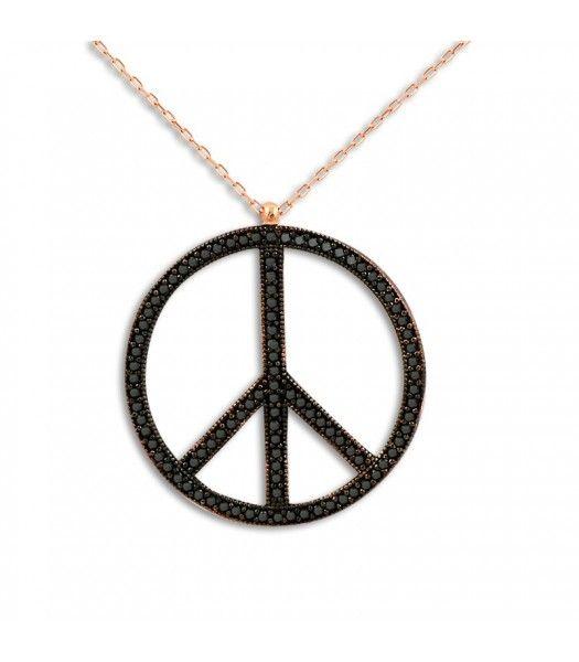 Gümüş Barış Kolyesi RHK160