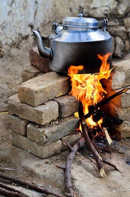 Nawet w najbardziej ekstremalnych warunkach znajdzie się chwila na filiżankę herbaty http://www.big-active.pl/