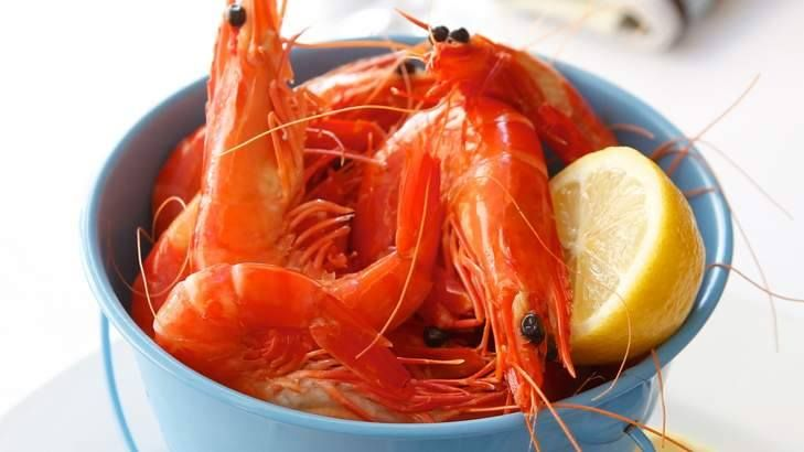 Bucket of Prawns anyone? On ice, 24 peeled king prawns, simply served with lemon & dipping sauce... Poolside with an icy glass of white, doesn't get much better