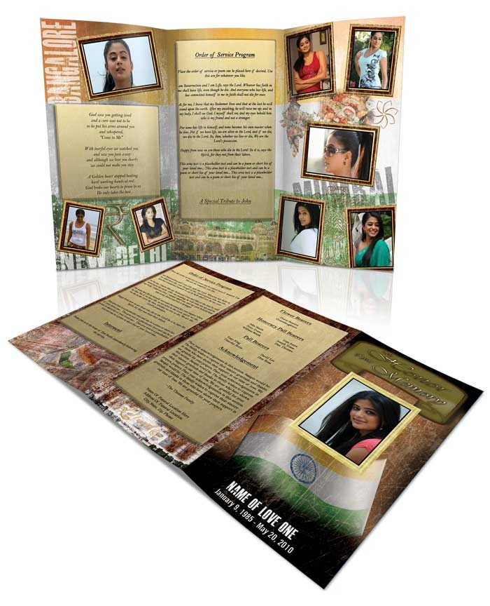 139 best Funeral Program Templates Thank You Cards images on - memorial brochure template