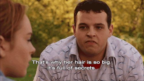 "And when Damian explained Gretchen's nosy nature. | 33 ""Mean Girls"" Quotes Guaranteed To Make You Laugh Every Time"