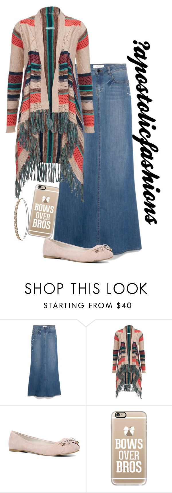 """Apostolic Fashions #1456"" by apostolicfashions on Polyvore featuring MANGO, ALDO, Casetify and Charlotte Russe"