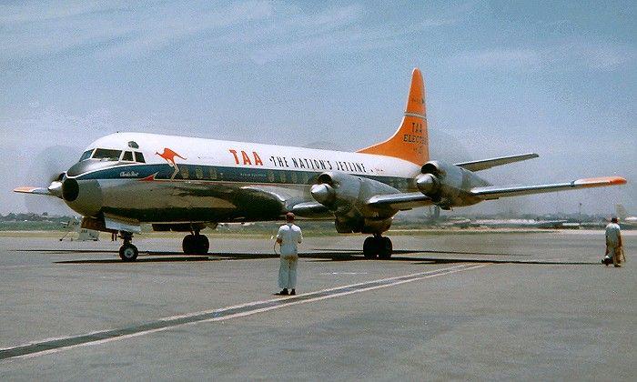 TAA Lockheed Electra 118A (VH-TLC)