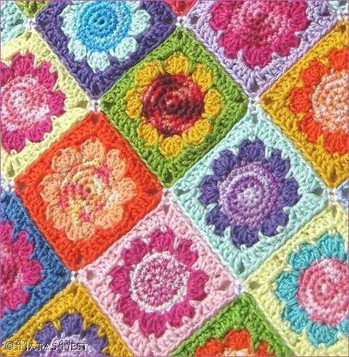 Daisy Granny ~free pattern~