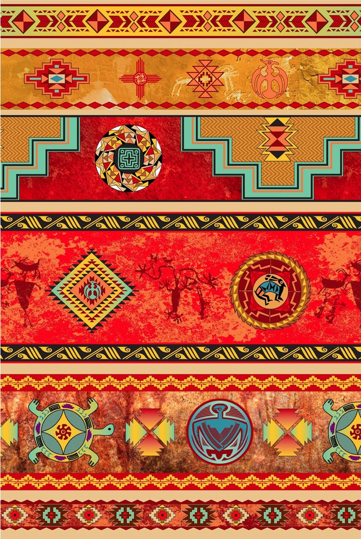 Native Fabric Native American Blankets And Designs I