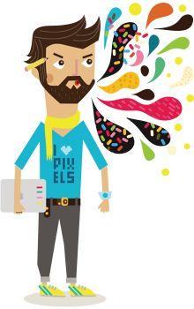 Webydo's Infographics - SARIT EVRANI :: Illustrator & Creative Ninja