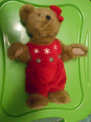 #TeddyBears #Teddy #Bears BOYD'S ARCHIVE SERIES*1990 LADY TEDDY BEAR*FULLY JOINTED*12 1/2 inches #TeddyBears #Teddy #Bears