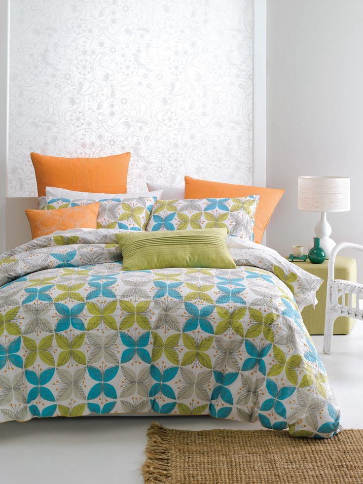 Nu Edition Charlotta Duvet Cover Set - view full collection - duvet covers - queenb