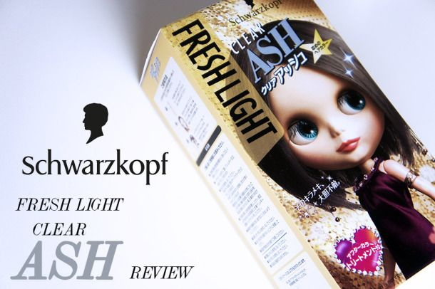 SCHWARZKOPF FRESH LIGHT CLEAR ASH HAIR DYE [REVIEW]: Toning down red tones. | KAKA BEAUTY BLOG