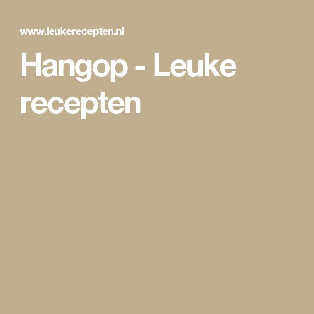 Hangop - Leuke recepten