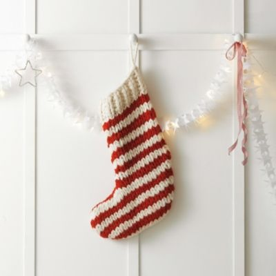 Striped Stocking  from The White Company