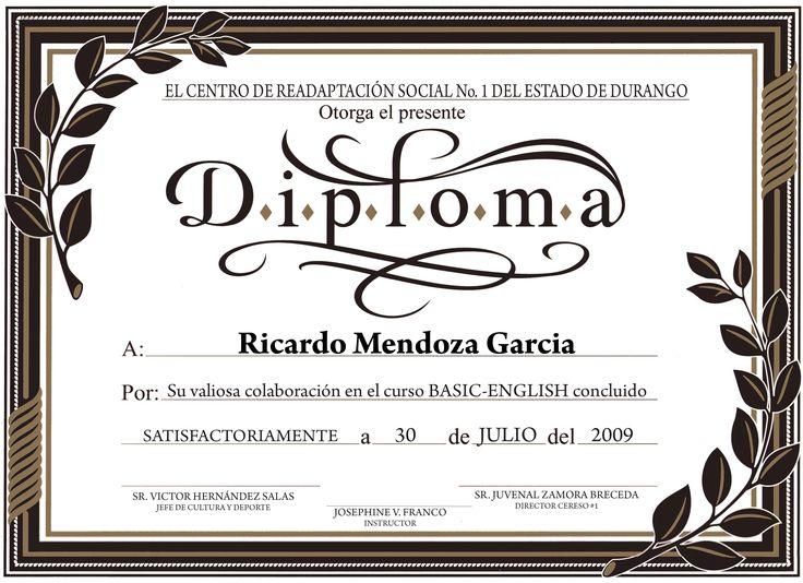 Diplomas para imprimir con diseños infantiles - Imagui