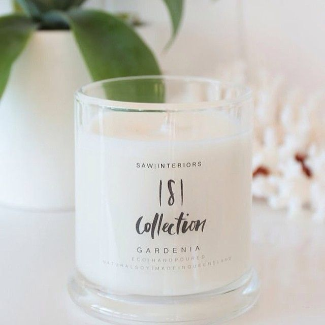 The SCollection Soy Candles Range GARDENIA