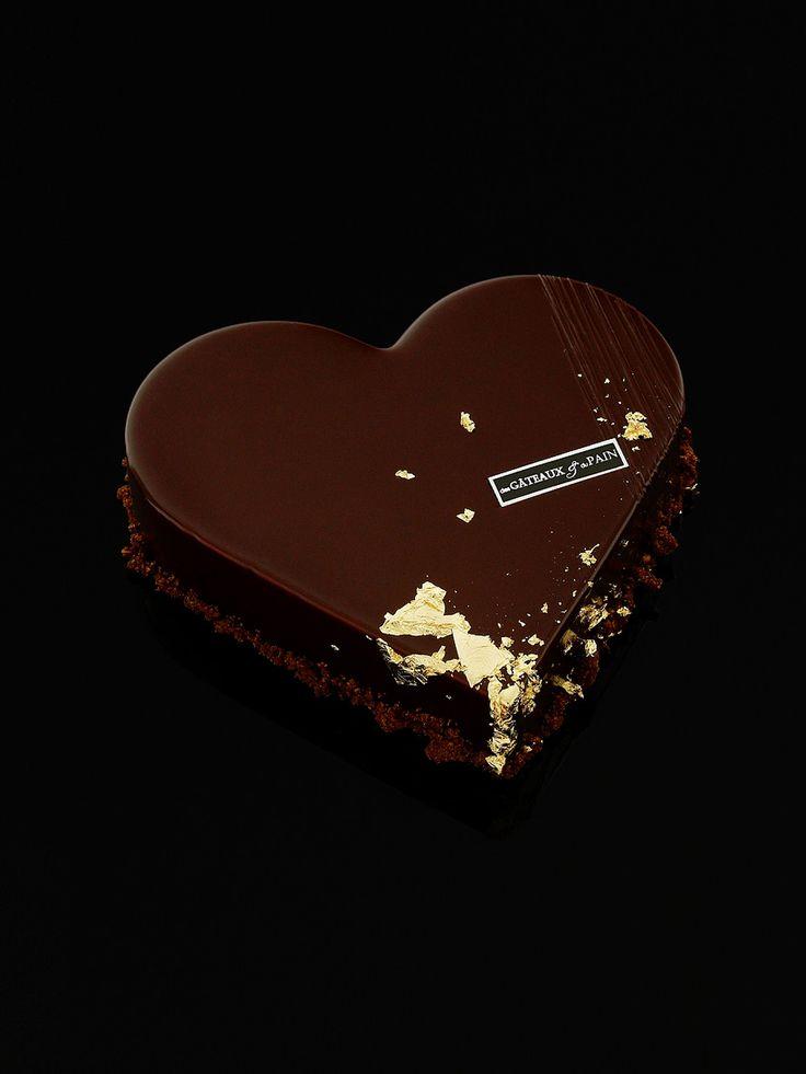 Coeur aux chocolats grand crus - Des Gâteaux et du Pain