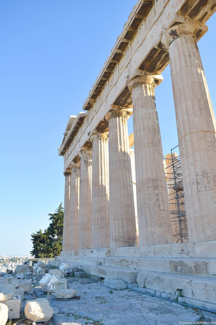 Exploring Athens Pt 2 | The Acropolis (The High City) | Its All Bee