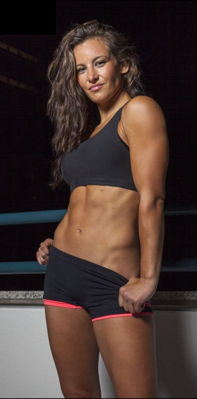 The sexiest UFC women's cage fighter she needs another shot at Rhonda