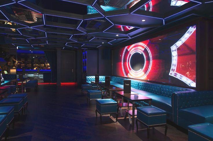 Роскошный дизайн элитного ночного клуба