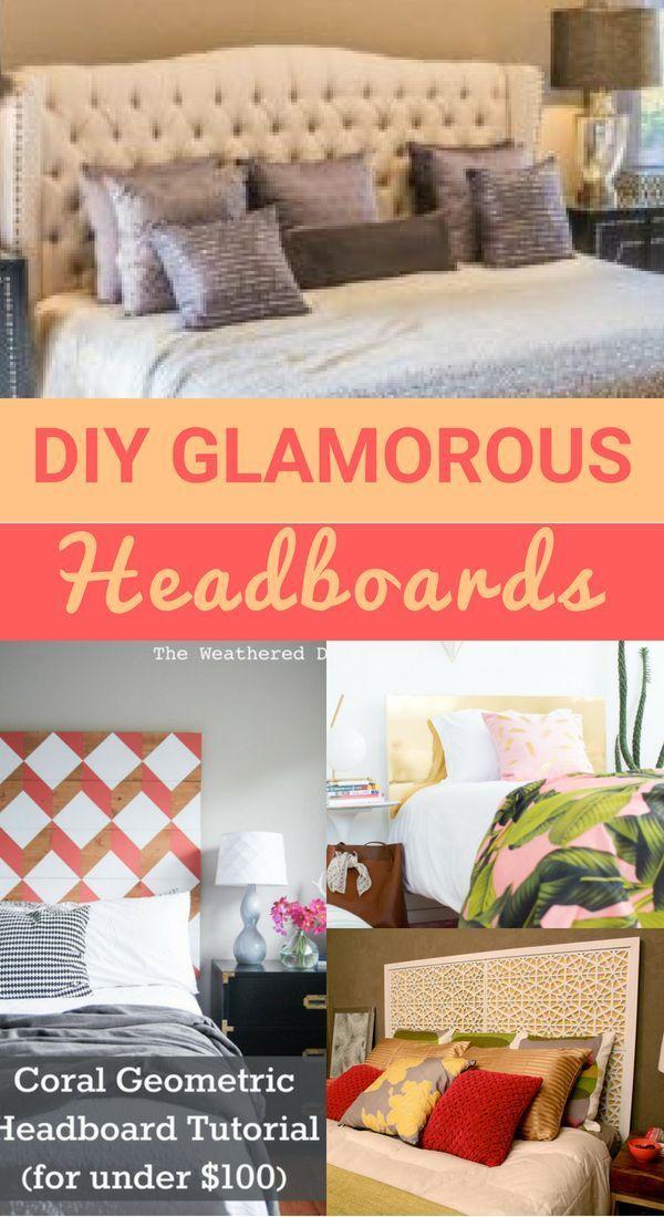 Diy Cheap But Glamorous Headboard Ideas Unique Home Decor