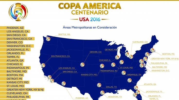 Copa América Centenario: fixture, calendario y horarios de torneo | Copa América | Fútbol Internacional | Depor.com