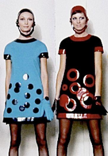 1960sPierre Cardin Minidress