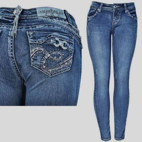 LA Idol Size 11, Bling Bling Jeans NWT  #LAIdol #SlimSkinny