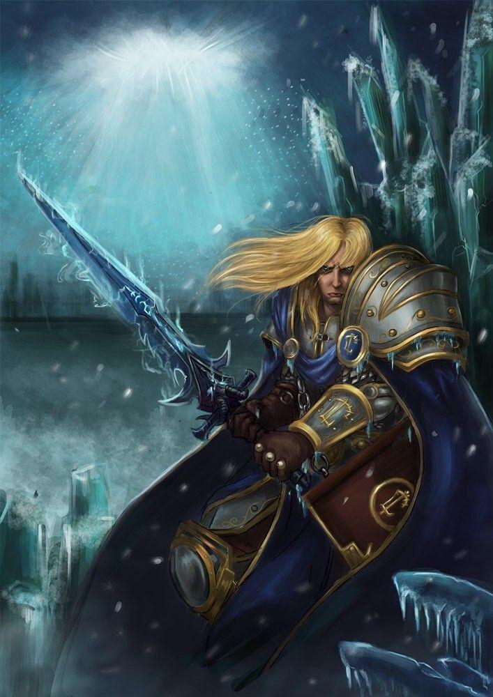 Arthas by MinJune Kim Art   Warcraft art, Warcraft heroes ...