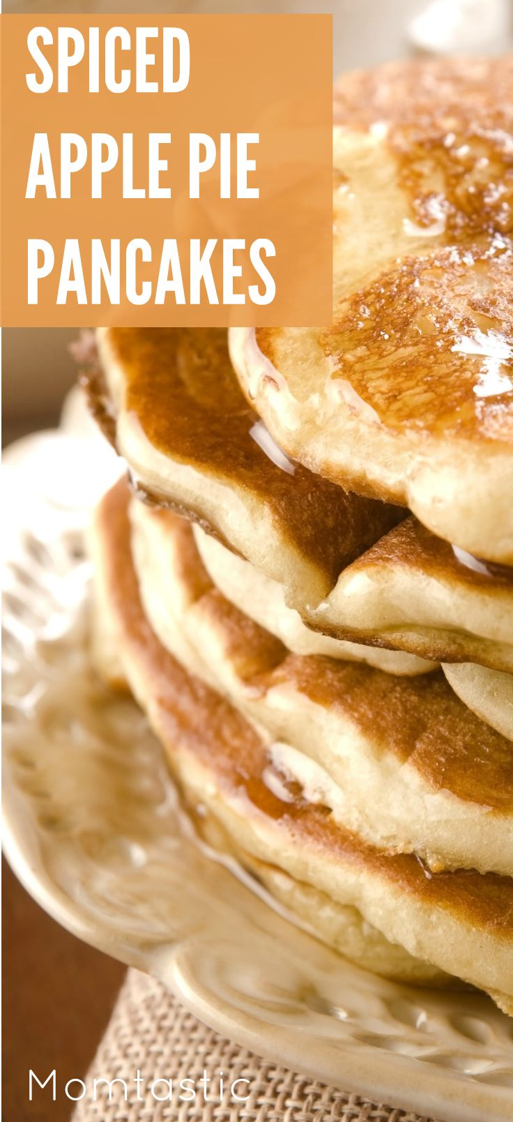 Apple Pie Pancakes | Recipe | Spiced Apples, Pancakes and Apples
