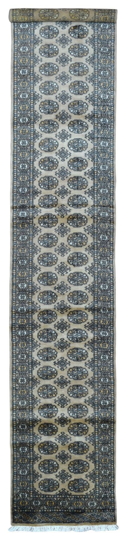 Royal Bukhara Oriental Long Runner Rug 2'7X15'