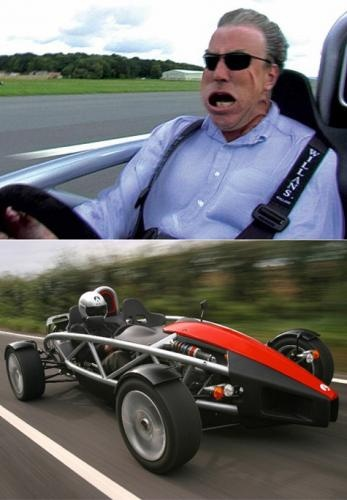 Arial Atom, Honda V6, 0 to 60 in 2.9 seconds. If you can shift it fast enough. Will outrun a bullet bike!