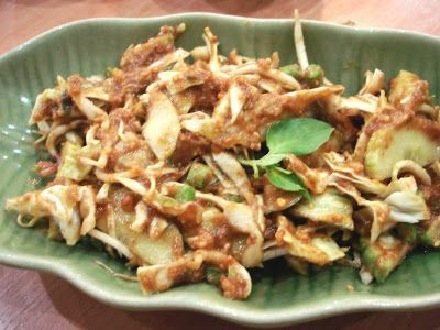 Karedok is typical food from Bandung