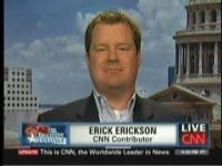 """Shame on #CNN for allowing this! Erick Erickson CNN referred to the Democrats' packed list of female speakers at their convention in Charlotte, North Carolina as """"the Vagina Monologues""""     There's no room for this stuff anymore."""