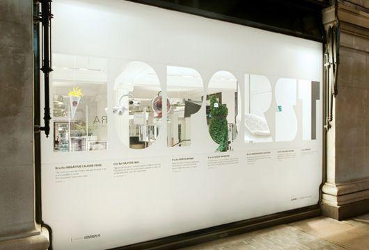 Selfridges A to Z by Wieden + Kennedy | WANKEN - The Art & Design blog of Shelby White